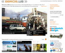 The New BBros.us site fresh for 2012, funner than ever.